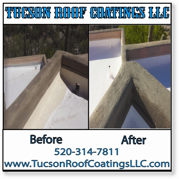 Before And After 5-10-2016-3 Tucson Roof Coatings LLC