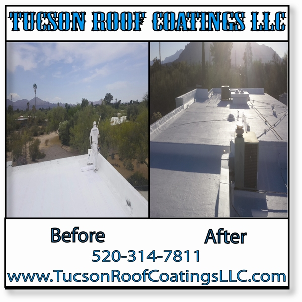 Before And After 5-21-2016-2 Tucson Roof Coatings LLC