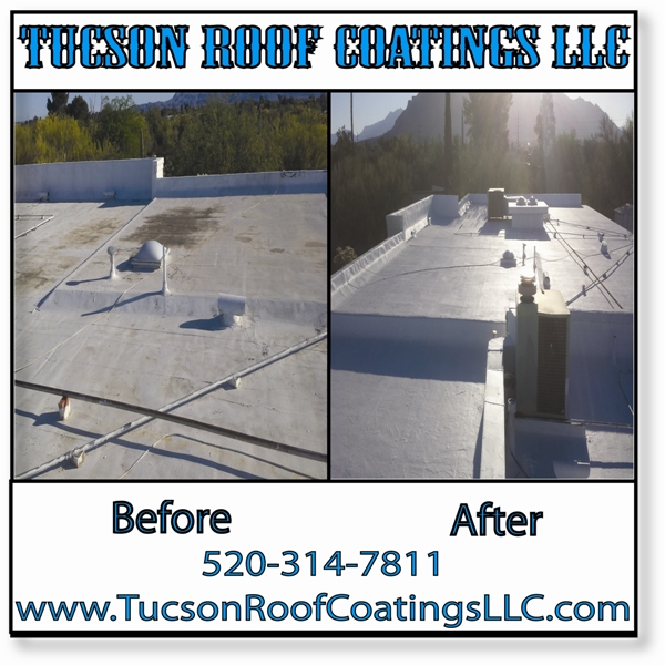 Before And After 5-21-2016-3 Tucson Roof Coatings LLC